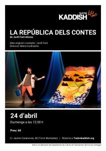 La república dels contes poster